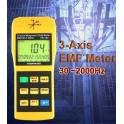 ►Champ électromagnétique ► appareil de mesure 3 axes