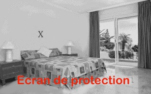 Protection ondes rf